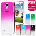 ULTRA THIN 3D CLEAR RAIN DROP BLING CASE FOR SAMSUNG GALAXY S4 i9500 HARD COVER