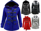 NEW LADIES CASUAL DUFFLE TRENCH COAT JACKET PLUS SIZE 16 - 26