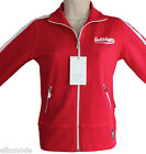 Golddigga Womens Red White Retro Track Suit Top Fast Free UK Shipping BNWT S M L