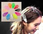 5 pcs  Harajuku personality skeleton skull hair clip hairpin hair accessories