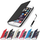 MAGNETIC LEATHER FLIP FOLIO CASE COVER FOR IPHONE 6 FREE SCREEN PROTECTOR