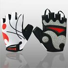 New Mens Cycling Gloves Bike Half Finger Bicycle Gel Silicone Fingerless Sports