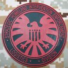 Captain America Old The Avengers S.H.I.E.L.D Logo Morale 3D PVC Patch