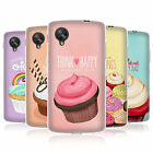 HEAD CASE CUPCAKE HAPPINESS GEL SKIN BACK CASE COVER FOR LG GOOGLE NEXUS 5 D821