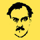 John Cleese, Fawlty Towers, Monty Python  T Shirt Mens XL Yellow SALE!