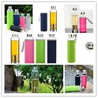Hotsale Glass Water Bottle With Tea Filter Fruit Infuser Sleeve Easy Clean CB