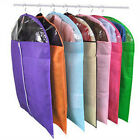 Hot Sale Set Of Blk Peva Garment Suit Covers Clothes Dress Bag Many Colors