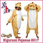 UK Seller Costume Cosplay Giraffe Onesie Anima Kigurumi Pajamas Hoodie Sleepwer