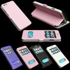 FLIP S-VIEW LEATHER CASE BATTERY HOUSING BACK COVER FOR APPLE iPhone 6 4.7""