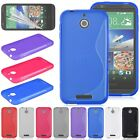 Soft TPU Silicone Gel Case Cover Skin For HTC Desire 510 FREE Screen Protector