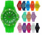 Reflex Silicone Strap Unisex Ladies Mens Sports Watch xmas Gift for Him Her