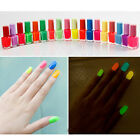 NOU Chic 7ML 20 candy colors optional Luminous Matte fluorescence nail polish