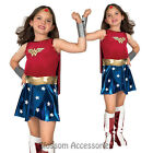 CK169 Wonder Woman Justice League Super Hero Fancy Dress Girl Book Week Costume