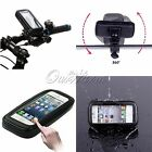 Bike Bicycle Waterproof Phone Case Cover Bag Pouch Handlebar Mount Holder Cradle
