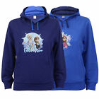 Girls Sweatshirt Kids Frozen ELSA ANNA Disney Hooded Top Pullover Fleece lined