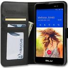 PU Leather Wallet Flip Case Cover for BLU Phones-Advance/Studio/Life