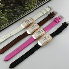WH066 square Diamond Analog 1pcs Quartz Watch Lady's/women's PU leather