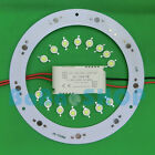 9W High Power LED light + AC Driver + Aluminum Base Plate PCB DIY 9x1W