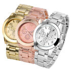 Stylish Geneva Ladies Women Girl Unisex Metal Alloy Quartz Wrist Watch