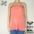 QUIKSILVER ROXY 'TIGER LILI' STRAPPY TOP SHIRT PINK LITCHEE L LARGE SURF BNWT