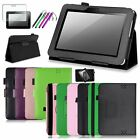 For Kindle Fire HD 7 2012 Stand 7 inch Leather Case Cover + Screen Protector/Pen