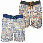 South Shore Para Hombre Surf/ Boardshorts 'Nevis' Estampado De Foto