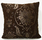Ng16a Light Brown Gold Red on Light Olive Brown Linen Cushion Cover/Pillow Case