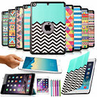 Ultra Slim Pattern PU Leather Smart Cover For Apple iPad Mini 1/2/3 Hard Case