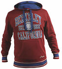 Champion Berkeley California Red Mens Cotton Hoodie Jumper 207148CSC 3552 OP U18
