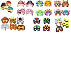 EVA FOAM MASKS Childrens Fancy Dress Toy Fun Game Stocking Party Loot Bag Filler
