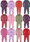 Children's Official Character Jersey Onesie, Kids Onesies Nightwear Pyjamas