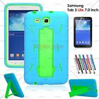 Hybrid Case Rugged Hard Stand Cover for Galaxy Tab 3 LITE 7.0/Tab E Lite 7.0