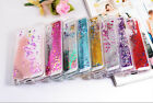 Clear Dynamic Liquid Glitter Paillette Quicksand Case Cover For Samsung Galaxy