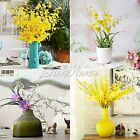 New 35'' Artificial Oncidium Orchid Silk Flower Home Wedding Party Decoration