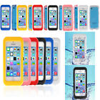 Ultra-Thin Back Cover IP68 Waterproof Case Cover For Apple Iphone 5S 5C 5 4S 4