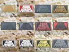 Rectangular STAR WARS Logo Tactical military morale 3D PVC Patch $6.49 CAD