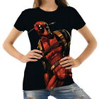 Deadpool Women's Clothing T-Shirts S M L XL 2XL