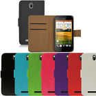 Flip Pu Leather Flip Case Wallet Cover For The HTC One Sv