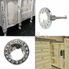 New Silvery Diamond Sparkle Clear Crystal Glass Drawer Cabinet Door Handle Knobs