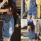 Popular Women?s Loose Shorts Denim Jumpsuit Jeans Suspender Bib Pants Overall