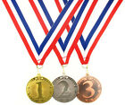 50mm Metal Placed Star Medal-1st Gold,2nd Silver or 3rdBronze-FREE POST/ENGRAVED