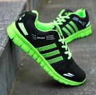 Stylisg Mens Casual Lace Up Training Athletic Pieced Running Sneakers Flat Shoes