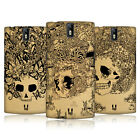 HEAD CASE DESIGNS DOODLE SKULL HARD BACK CASE FOR ONEPLUS ONE