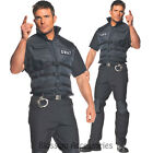CL266 SWAT Adult Costume Mens Police Special Ops Military Fancy Dress Halloween