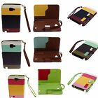 NEW For Galaxy Note i9220 PU Leather Wallet Flip Pouch Stander Case Cover Skins