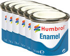 HUMBROL Enamel Paint Matt 14ml Choose Colour No100-149