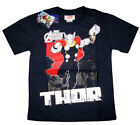 Boys AVENGERS ASSEMBLE 'THOR' cotton t-shirt Sz 6-8-10-12 Age 4-8 yrs Free Ship