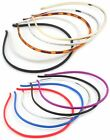 Zest Set of 5 Skinny 4mm Alice Bands Hair Accessories