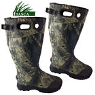 ITASCA Mens Wide Calf Fit Camo Wellington Hunting Boots Rain Work Mucker Wellies