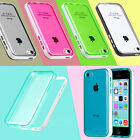 For Apple iPhone 5C 5 C Heavy Duty Hybrid Rugged Hard Transparent Case Cover